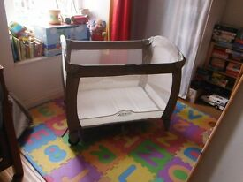 Graco Travel Cot plus accessories