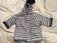 M&S jacket with detachable fleece.