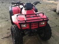 Honda TRX 250 fourtrax quad spares or repairs bargain