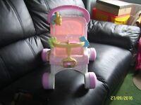 fisher price walker pushchair