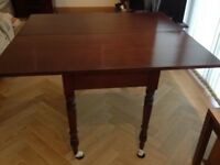 Multi-use Mahogany Dining Table/Desk/Console Table