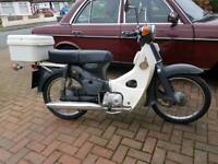 1979 Honda C70 Z-2 Motorcycle Genuine Original Rare Barn Find One Owner From New Grey
