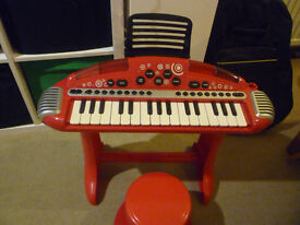 Early Learning Centre (ELC) - Superstar Cool Keyboard and Stool
