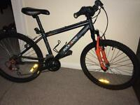 Mountain bike Between. Rock rider for 7-10 years. Very good condition!