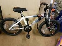 Raleigh zero 18 inch bike