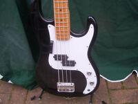 Encore Coaster Electric Bass Guitar.