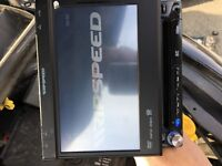 Ripspeed DVD player with remote touch screen USB aux sd card slot