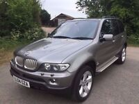 2004 BMW X5 4.4 SPORT AUTOMATIC FACELIFT LOW MILEAGE FSH MOT TILL 12/2017 1 OWNER FROM NEW