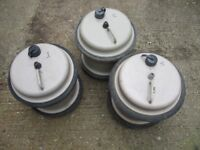 Aquaroll Water containers. 3 in number