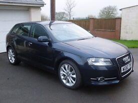 Audi A3 Sport 2.0 TDi, 2011/60, blue **** Price reduced ****