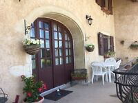 "Converted ""Maison du Vigneron"" (Wine House) in the Beaujolais France. Full of character ."