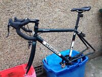 SPECIALIZED 'LANGSTER' 2008 Green Single Speed Track Bike Frame + PARTS