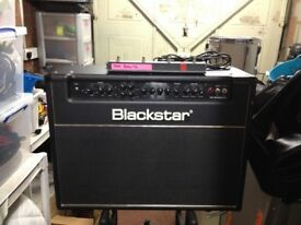 Blackstar HT60 Stage with Footswitch and Cover