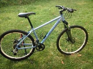 CARRERA VULCAN ALUMIUM MOUNTAIN BIKE DISC BREAKS FULL SUSPENSION EXCELLENT CONDITION MENS BIKE