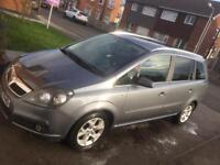 2007 VAUXHALL ZAFIRA DIESEL AUTO 7 seater with half leather