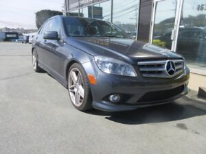 2010 Mercedes-Benz C-Class C350 4-MATIC W/ AMG ALLOYS, LEATHER &