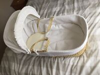 Moses basket. Brand new!
