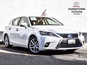 2016 Lexus CT 200h LEATHER | BLUETOOTH | HTD SEATS | 1 OWNER