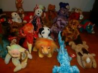 TY Beanie Babies Random Collection 25 All Retired Excellent Condition With Tags