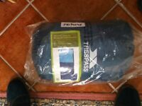 Brand New 500g/sm Trespass Envelope sleeping Bag