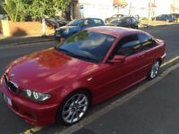 BMW E46 3 SERIES 320CD M SPORT IMOLA RED - 2DOOR COUPE - HAS MOT - 54 PLATE - INDIVIDUAL