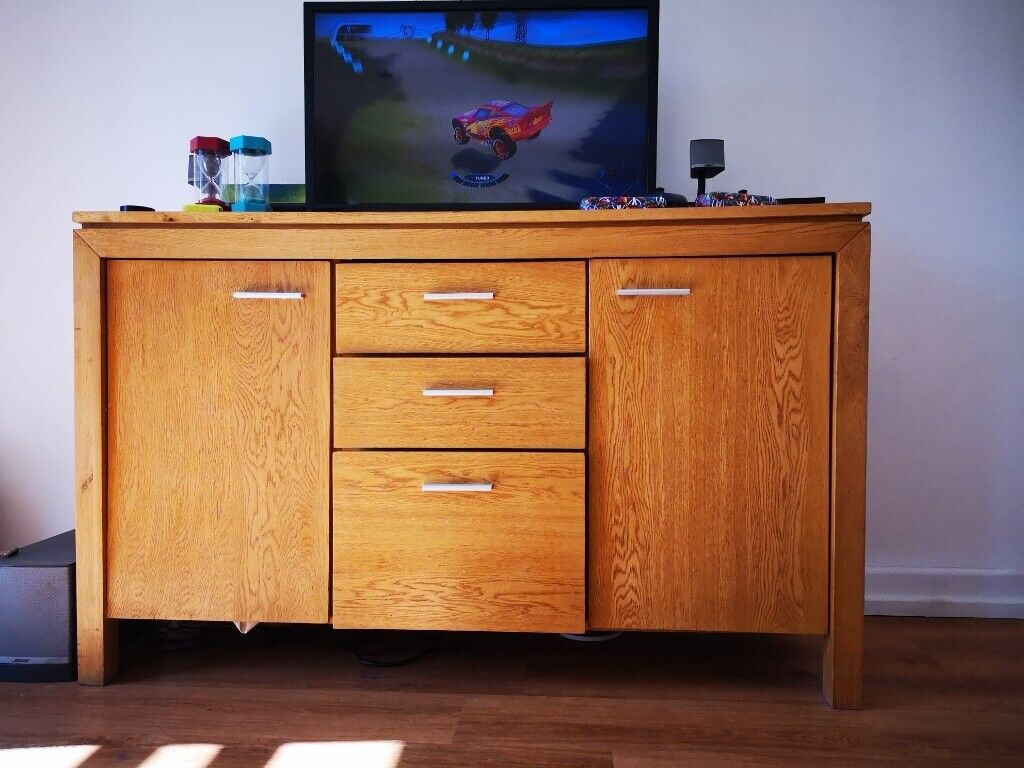the best attitude d3503 0694d Solid Oak sideboard. Furniture village | in Penarth, Vale of Glamorgan |  Gumtree