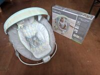 Ingenuity Soothe and 'n' Delight baby bouncer seat.