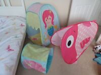 """""""Seaside"""" themed play tents - from ELC - excellent condition"""