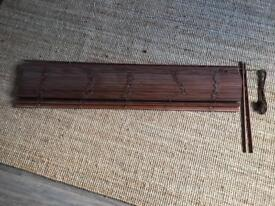 Wooden Blind, 140cm width, nice quality. All fittings inc.