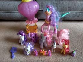 My Little Pony dolls - Inc Talking Princess Celestia and Twinkling Balloon