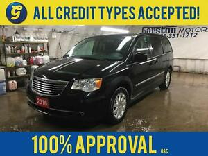 2016 Chrysler Town and Country DUAL REAR DVD PLAYERS*DUAL ROW ST