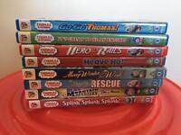 8 Thomas DVD's