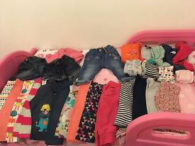 6-9 months girls large bundle