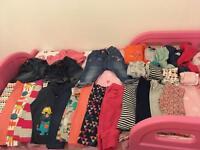 6-9 months girls large bundle