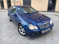 Mercedes-Benz C Class 2.1 C220 CDI*AUTOMATIC*,Coupe,FULL SERVICE,NEW MOT,HPI CLEAR,2 KEYS,WARRANTY