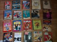 375 x rare collectible books annuals music film sci fi art viz trains occult magic football rupert