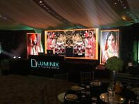 LED Screen/Video wall, Dance floor & Lighting hire. DJ