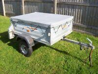 ERDE 122 Car tipper trailer