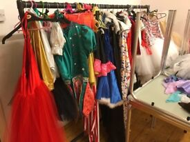 Show Costumes from 3 years up to 25 years, Approximately 60 pieces