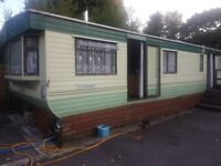 FREE TO WHOEVER CAN COLLECT 35 x 12 foot static caravan