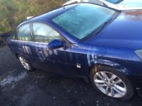 Vauxhall vectra 2008 door in blue