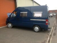 fiat ducato 2.5 turbo diesel.camper van motor home.2/3 birth.coverted to high standard.