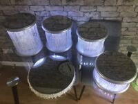 HALF PRICE was £400 now £200 Brand New Wood NOT Plastic 3 4 5 Tier LED Mirrored Wedding Cake StanD