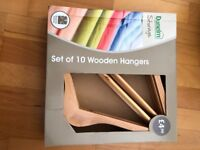 Wooden Hangers (lots of Sets of 10 Available - No longer boxed)