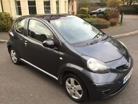 TOYOTA AYGO 1.0 PETROL,£20 TAX FOR THE YEAR,7 MONTHS MOT,LOW MILEAGE.
