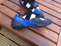 ClimbX climbing bouldering shoes uk size 9