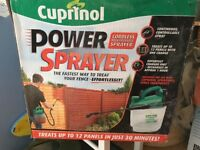 Cuprinol sprayer