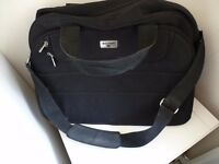 Black 'Antler' luggage multi purpose holdall bag, in perfect condition.
