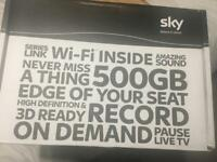 Sky+ HD/WiFi box