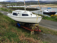 SADLER SEAWYCH 19ft LOA - Ideal first sailing boat!